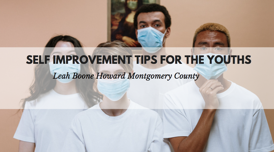 Leah Boone Howard Montgomery County Shares Self Improvement Tips For the Youths